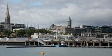 Dun Laoghaire from pier