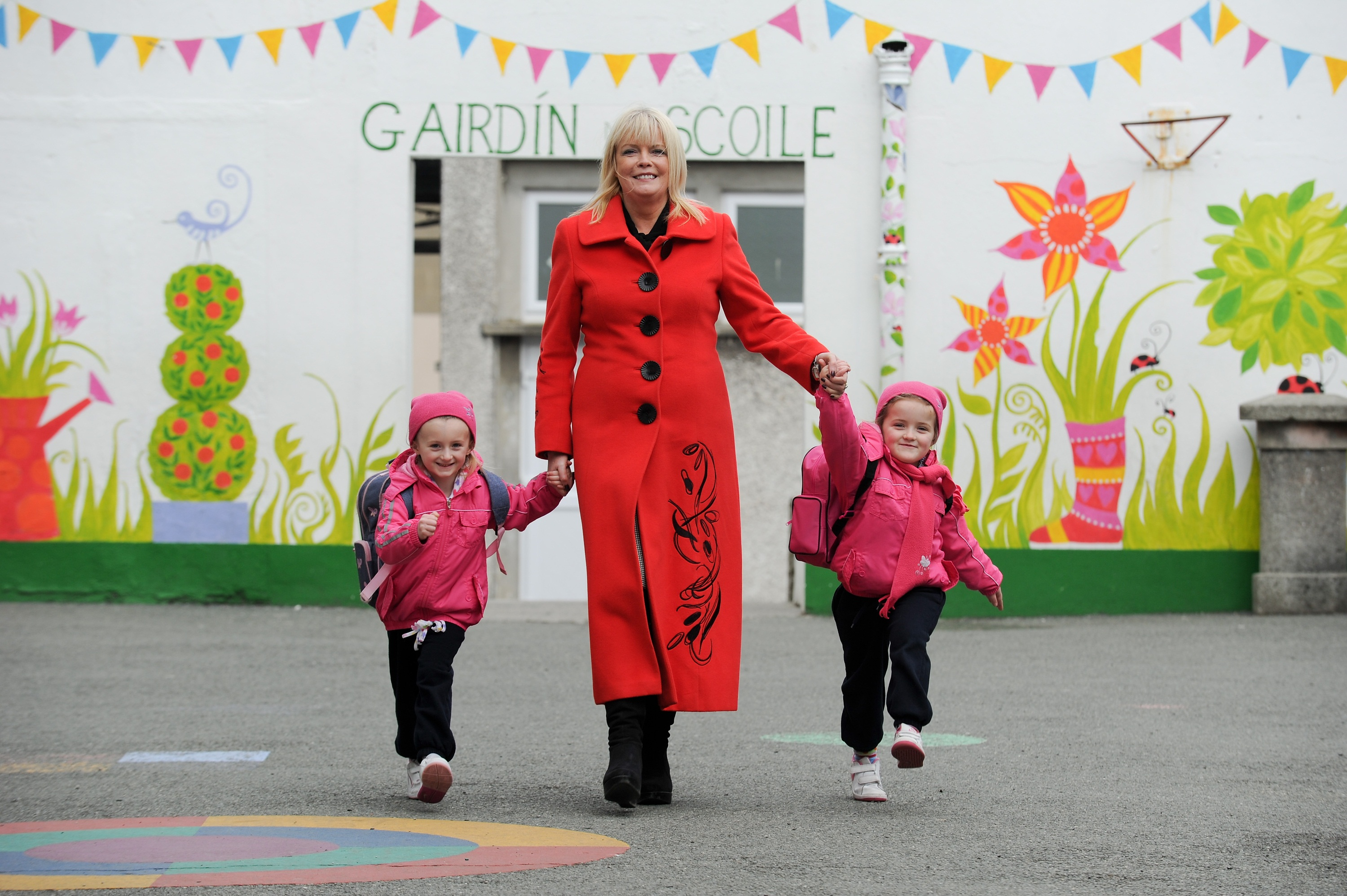 Mary Mitchell O'Connor Harold School O'Brien twins