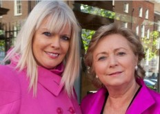 Mary Mitchell O'Connor & Frances Fitzgerald