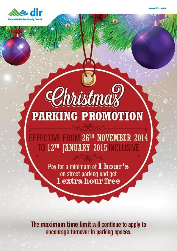 DLRCC Christmas Parkin Promotion