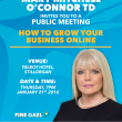 Public Meeting Invite – How to Grow your Business Online, January 21st, 2016