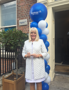 Minister Mary Mitchell O'Connor arrives at Sigmar offices in Dublin 2